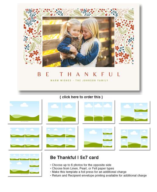 Be Thankful | 5x7 card