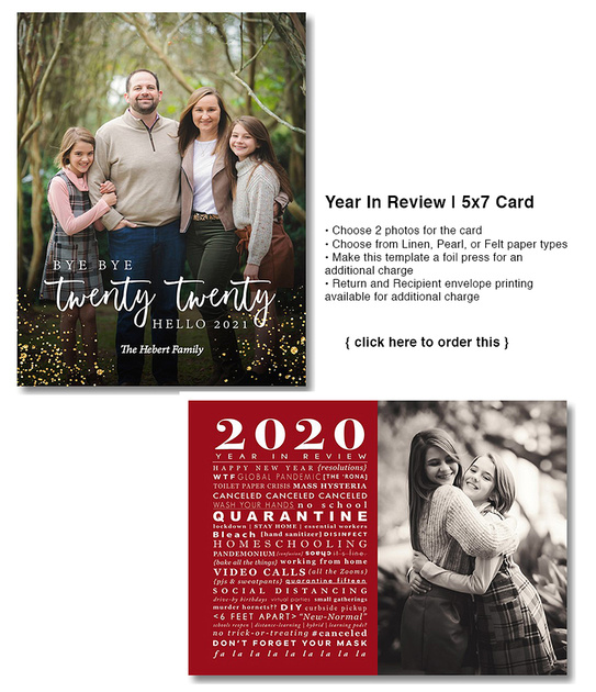 Year In Review | 5x7 Card